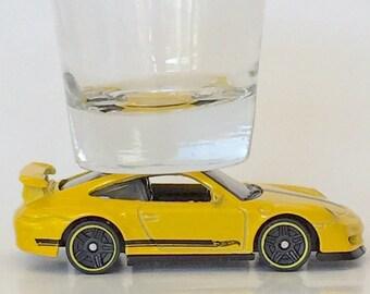 The ORIGINAL Hot Shot, Classic Hot Rods, Shot Glass, Porsche 911 GT3 RS, Hot Wheels