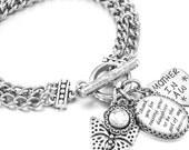 Mother of the Bride Bracelet, Wedding Bracelet, Gift for Mother of the Bride, Bridal Gift, Wedding Party gift