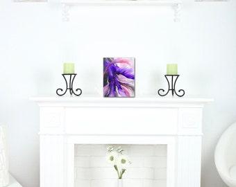 Purple Abstract Art Print, Pink Artwork, Bedroom Wall Art, Modern Home Decor, Vivid Modern Art, Art Lover Gift, Friend Gift, Print, Dorm Art