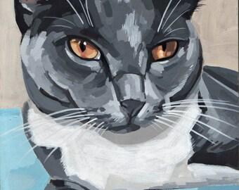 "Custom Pet Portrait 5x7"""