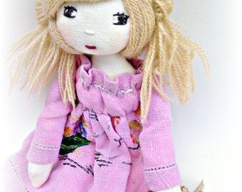 Handmade doll by Verity Hope