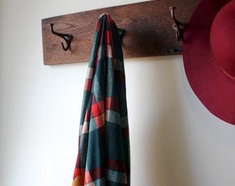 Reclaimed Barn Lumber Coat Rack