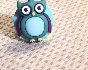 Blue Owl Ring