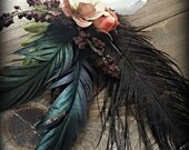 Glow - ATS, Victorian or Tribal Fusion Belly Dance Hair Clip
