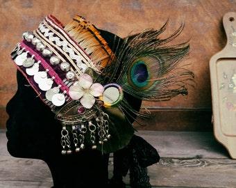 Warrior Goddess - Art Deco/Nouveau Fantasy Faerie Tribal Fusion
