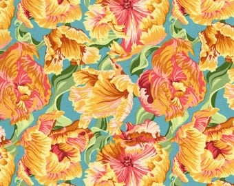 Flowers Sultans Garden RJR Mary McGuireFabric 1 yard