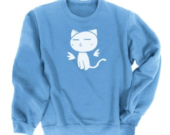 Kawaii Kitty Sweatshirt cute cat sweater kawaii clothing pastel goth kawaii gift pastel grunge harajuku anime kitten