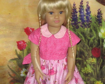 Pink Ballerina Day Dress for Kidz and Cats dolls