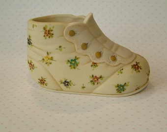 Porcelain Baby Shoe