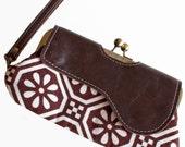Vegan Leather Wallet Clutch