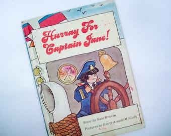Hurray for Captain Jane - hardback children's book - 1971