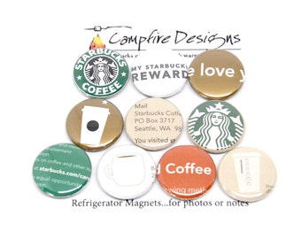 STARBUCKS Magnets VARIETY PACK 2-Refrigerator Magnets