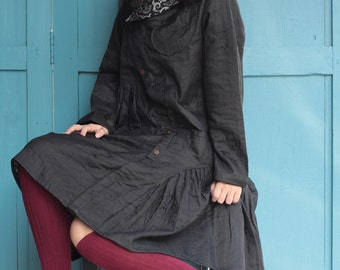 Patricia.....2 Layers thick tunic for autumn & winter size M......D 429