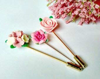 Secret Garden - Hat Pin, Hijap pin, Lapel Pin