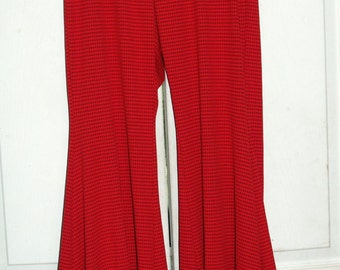 Ruffle bottom dance yoga pants