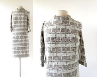 60s Mod Dress | Expo 67 | 1960s Dress | Small S