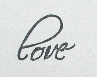 love -sentiments stamp