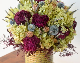 Peony and Hydrangeas Arrangement,  summer floral arrangement, hydrangea arrangement, spring arrangement