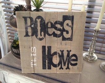 Wood sign, Sign, Wooden sign, Pallet sign, Cottage decor, Cottage chic, Farmhouse decor, Rustic, Framed art, Inspirational quote, Home decor