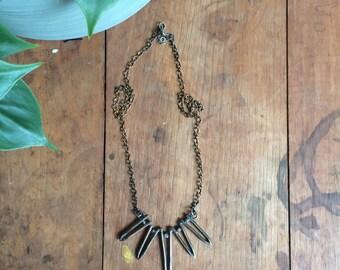 Tillandsia Spike Necklace
