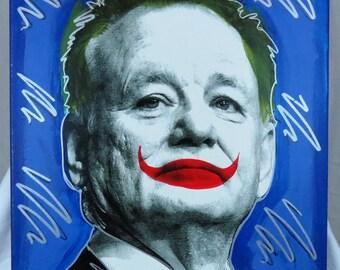 Bill Murray, The Joker 16x20 Screenprinted Wall Art