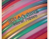"BuY 4 and SaVE- 4 CoLoRED PolyPro Hoops. BeSt Selection of Colors You'll Find, available in 3/4"" OD AnD Some in 5/8"" OD ThiN - Collapsible"