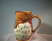 Honey Amber with Ants Mug