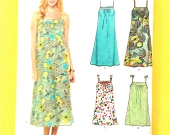 New Look 6778 Women's Slip Dress Easy 2 Hour Sewing Pattern Size A