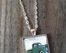 1948 Ford F-1 Necklace ~ Ford Necklace ~  Dome Pendant Tray Necklace ~ Postage Stamp Jewelry ~ Forever Stamp ~ Vintage Pickup Truck
