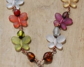 Butterly Jewelry, Butterly Necklace, Colorful Butterfly Jewelry, Women's Necklace, Women's Jewelry