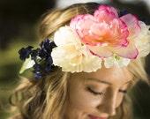 Bella Floral Crown Silk F...