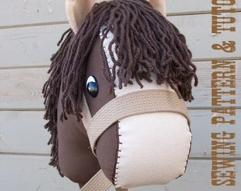 how to make a stick horse easy