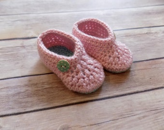 3-6 Month Baby Booties Pink Baby Booties Crib Shoes