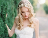 Wedding Hair Accessory, Bridal Tiara, Crystal Wedding Headband, Floral Crystal Bridal Crown - Style 504