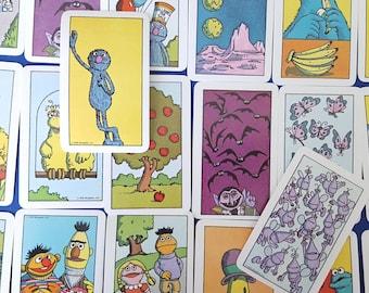 1978 Sesame Street Number Cards