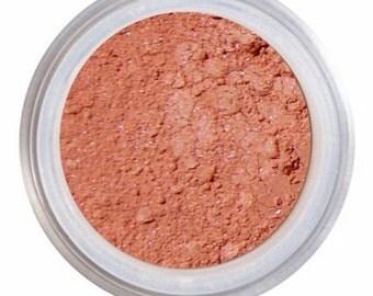 Blush Makeup / ANISE / Loose Mineral Blush / Natural Blush / Peach Poppy Blush / Vintage Peach / NARS Orgasm / Vegan + Cruelty Free