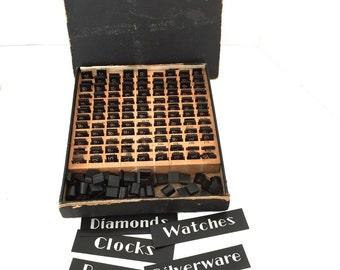 Jewelry Store Price Kit Vintage Clocks Watches Diamonds Silverware