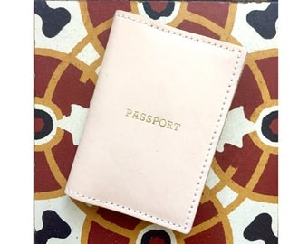 Leather Passport Cover,  Passport Holder ,  Gifts For Travelers, Travel Gifts, Passport Leather Pouch