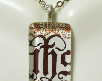 IHS pendant with chain - GP09-073