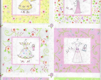 3 Yards 100% Cotton Fabric It's a Girl Thing by Dena Designs for Fabric Traditions (2004)
