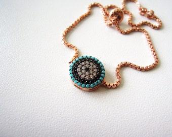 Turkish evil eye bracelet - gift for bride - gift for teacher -mother of the bride - bride gift - mother of the groom gift - bridesmaid gift