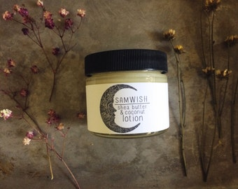 Organic Shea And Coconut Lotion // Small // Organic