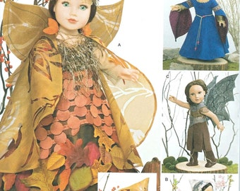 "18"" Doll Clothes Pattern by Simplicity-#1134, Brand new and uncut"