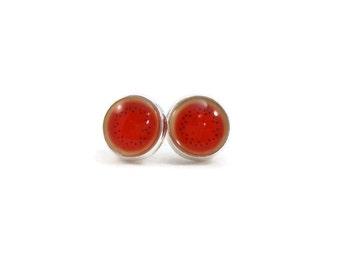Watermelon Earrings, Fruit Jewelry, Fruit Earrings, Fun Earrings, Jewelry for Teens, Tween Jewelry, Gifts for Tweens, Gifts for Teen Girls