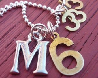 Matthew 6:33-34-Do Not Worry christian necklace