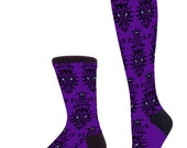 Horrid Howling Haunts - Haunted Mansion Inspired Socks