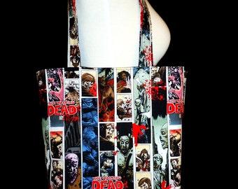 The Walking Dead Tote Bag - Zombie Comic Bag