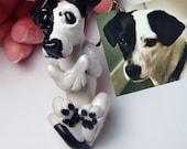 Custom Pet Ornament, Custom Dog Ornament, Custom Pet Portrait, Custom Dog Portrait, Custom Dog Sculpture