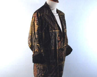 80's Asian Art Deco Blazer by TOGETHER!, Size Medium || Perfect Condition