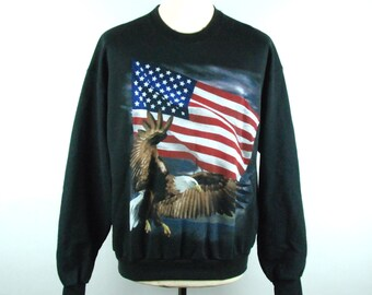 AMERICA - In Your Face!  50/50 Polyester Cotton Blend